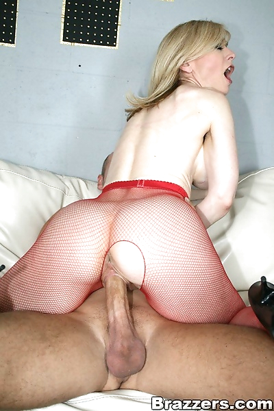 Mature blonde Nina Hartley..