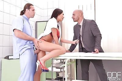Big boobed nurse Patty..