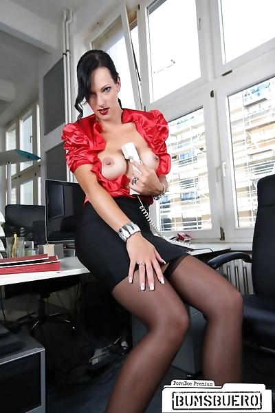 Hot and dangerous secretary..