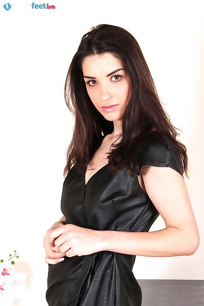 Dark haired beauty Layla..