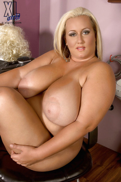 Busty bbw blond Rose..