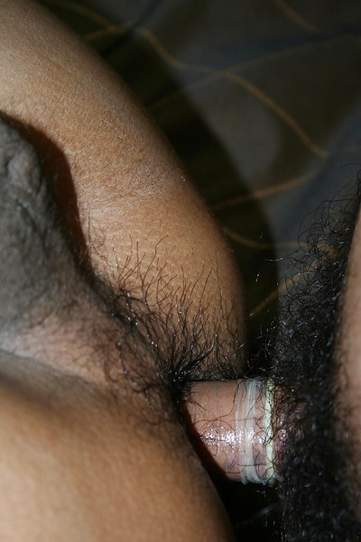 Unshaved Thai lady-boy Ning..