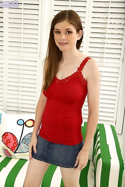 Sweet teen Lara Brookes..