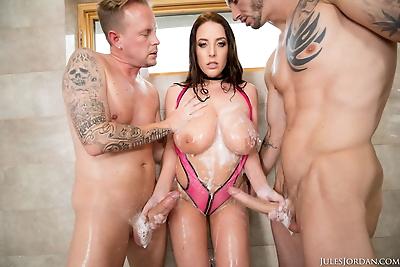 Busty Angela White..